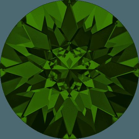 Swarovski 1188 Dark Moss Green