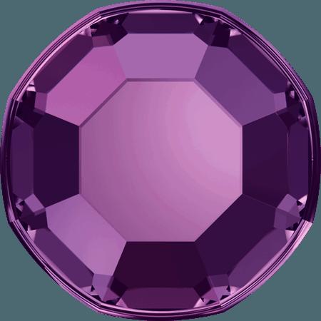 Swarovski 2000 - Rose, Hotfix, Amethyst