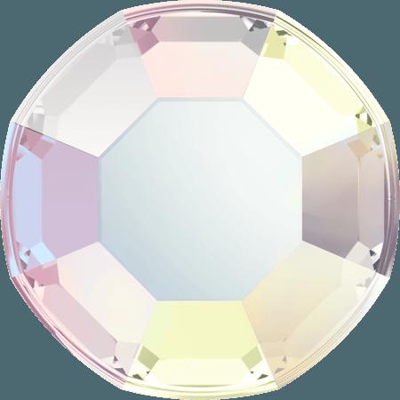 Swarovski 2000 - Rose, Hotfix, Crystal AB