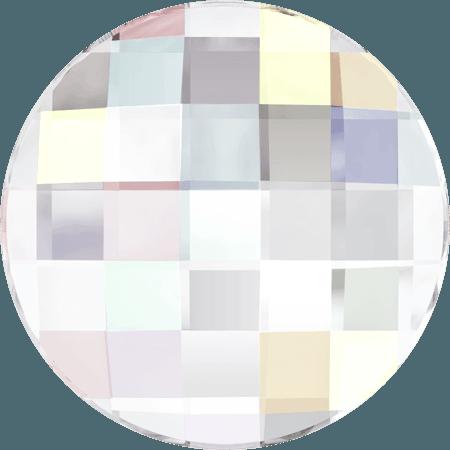 Swarovski 2035 - Chessboard Circle, Crystal AB