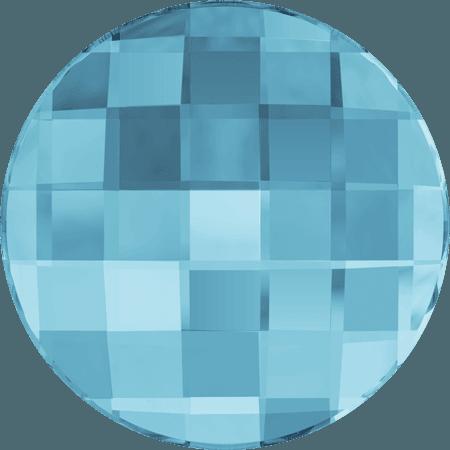Swarovski 2035 - Chessboard Circle, Aquamarine