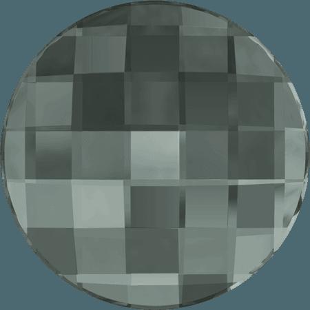 Swarovski 2035 - Chessboard Circle, Black Diamond