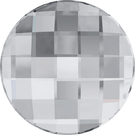 Swarovski 2035 - Chessboard Circle, Hotfix, Crystal