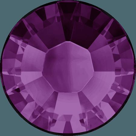 Swarovski 2038 - XILION Rose, Hotfix, Amethyst