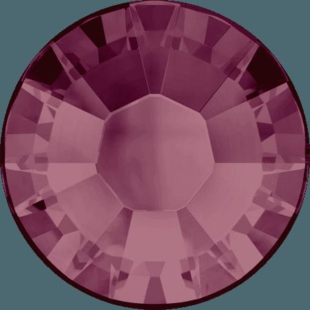 Swarovski 2038 - XILION Rose, Hotfix, Burgundy