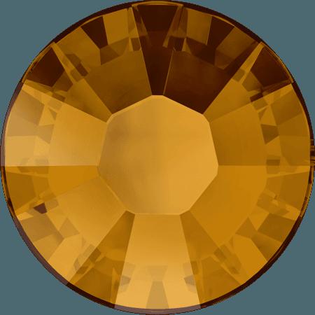 Swarovski 2038 - XILION Rose, Hotfix, Crystal Copper