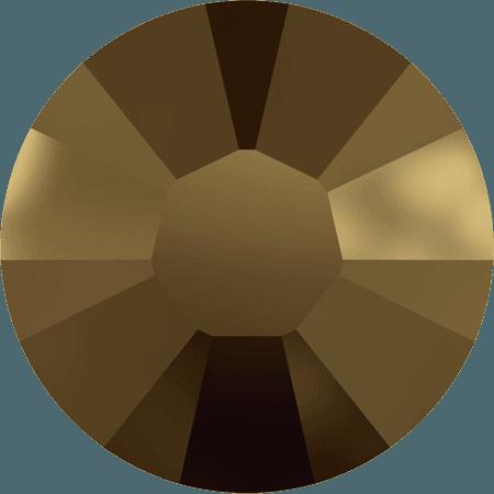 Swarovski 2038 - XILION Rose, Hotfix, Crystal Dorado
