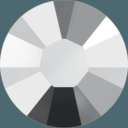 Swarovski 2038 - XILION Rose, Hotfix, Crystal Light Chrome
