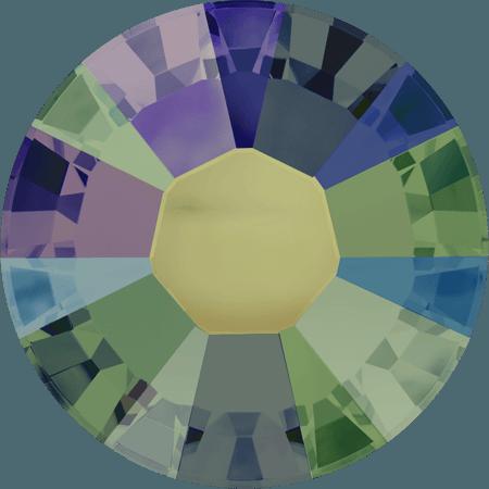 Swarovski 2038 - XILION Rose, Hotfix, Crystal Paradise Shine