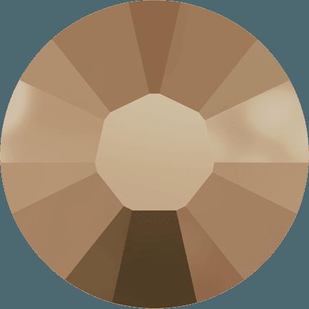 Swarovski 2038 - XILION Rose, Hotfix, Crystal Rose Gold