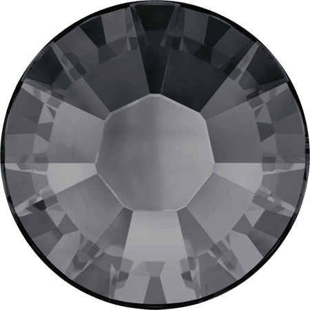 Swarovski 2038 - XILION Rose, Hotfix, Crystal Silver Night