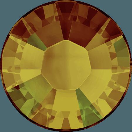Swarovski 2038 - XILION Rose, Hotfix, Crystal Tabac