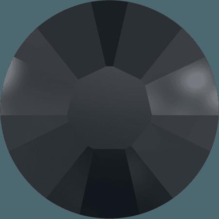 Swarovski 2038 - XILION Rose, Hotfix, Jet Hematite