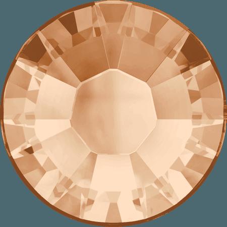 Swarovski 2038 - XILION Rose, Hotfix, Light Peach