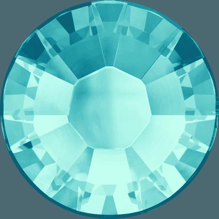 Swarovski 2038 - XILION Rose, Hotfix, Aquamarine