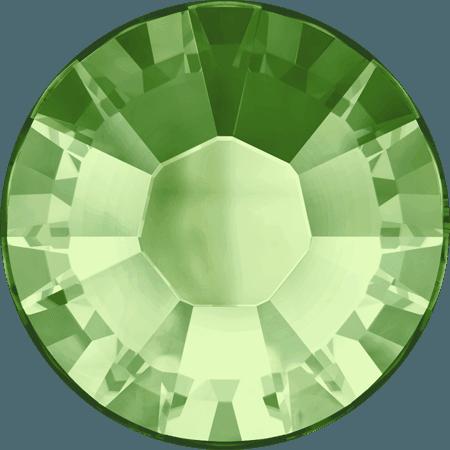 Swarovski 2038 - XILION Rose, Hotfix, Peridot