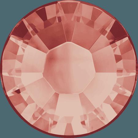 Swarovski 2038 - XILION Rose, Hotfix, Rose Peach