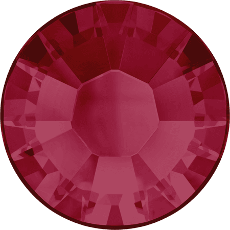 Swarovski 2038 - XILION Rose, Hotfix, Ruby
