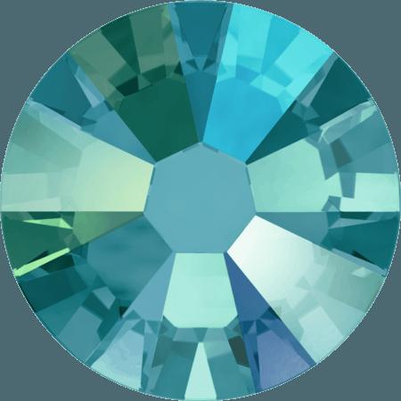 Swarovski 2058 - Xilion Rose Enhanced, Blue Zircon Shimmer