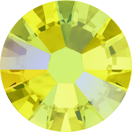 Swarovski 2058 - Xilion Rose Enhanced, Citrine Shimmer