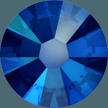Swarovski 2058 - Xilion Rose Enhanced, Cobalt Shimmer