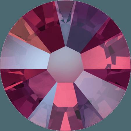 Swarovski 2058 - Xilion Rose Enhanced, Light Siam Shimmer
