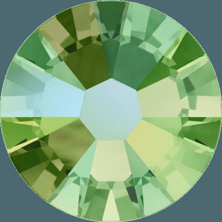 Swarovski 2058 - Xilion Rose Enhanced, Peridot Shimmer