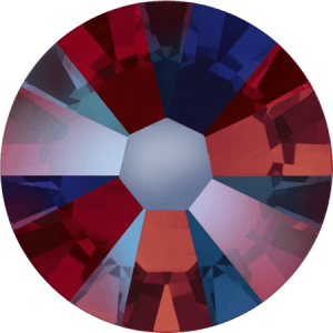 Swarovski 2058 - Xilion Rose Enhanced, Siam Shimmer