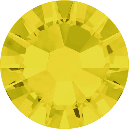 Swarovski 2058 - Xilion Rose Enhanced, Yellow Opal