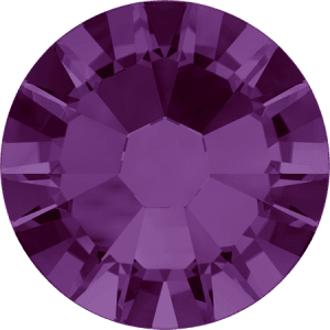 Swarovski 2058 - Xilion Rose Enhanced, Amethyst