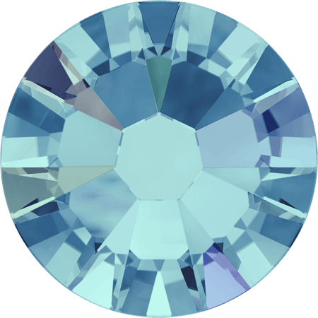Swarovski 2058 - Xilion Rose Enhanced, Aquamarine AB