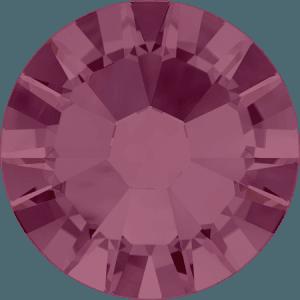 Swarovski 2058 - Xilion Rose Enhanced, Burgundy
