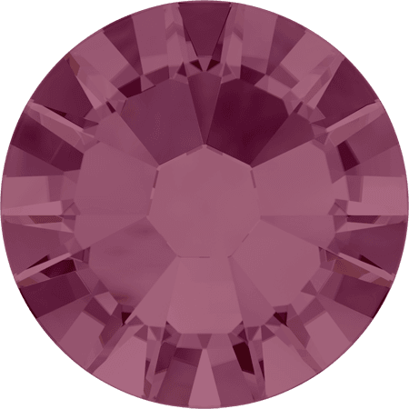 Swarovski 2058 - Xilion Rose Enhanced, Burgundy