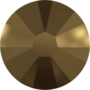 Swarovski 2058 - Xilion Rose Enhanced, Crystal Dorado