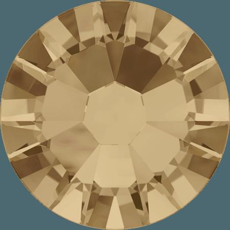 Swarovski 2058 - Xilion Rose Enhanced, Crystal Golden Shadow