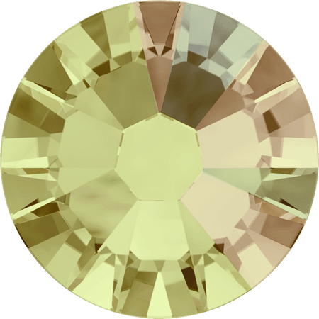 Swarovski 2058 - Xilion Rose Enhanced, Crystal Luminous Green