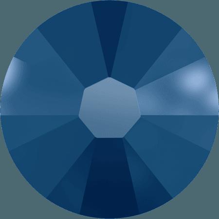 Swarovski 2058 - Xilion Rose Enhanced, Crystal Metallic Blue