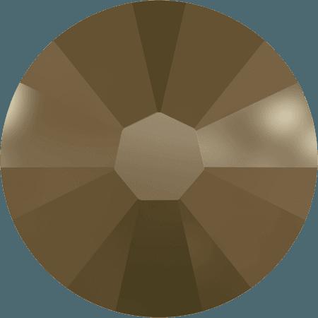 Swarovski 2058 - Xilion Rose Enhanced, Crystal Metallic Light Gold