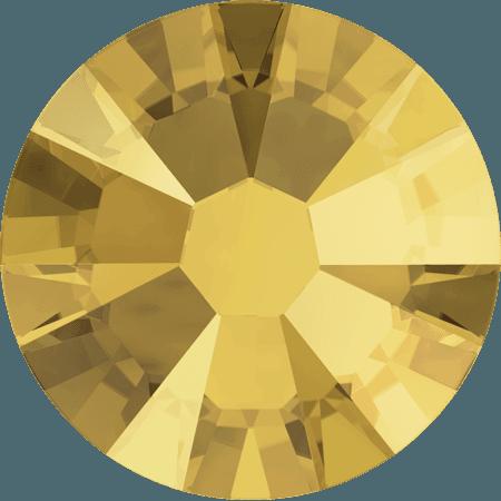 Swarovski 2058 - Xilion Rose Enhanced, Crystal Metallic Sunshine