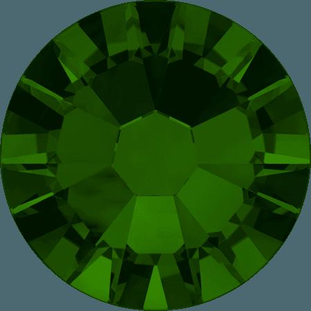Swarovski 2058 - Xilion Rose Enhanced, Dark Moss Green