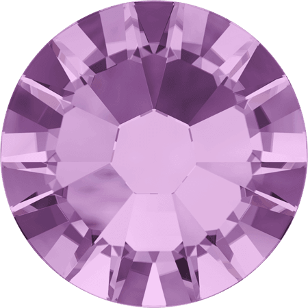 Swarovski 2058 - Xilion Rose Enhanced, Light Amethyst