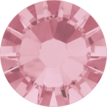 Swarovski 2058 - Xilion Rose Enhanced, Light Rose