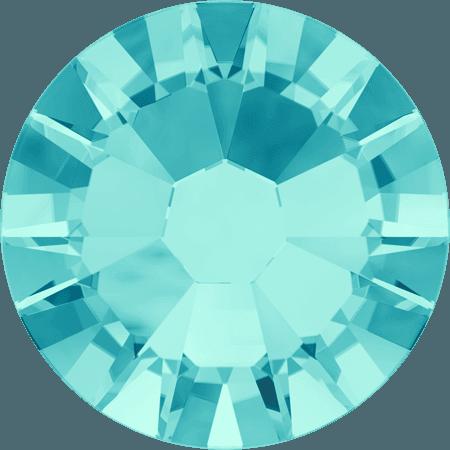 Swarovski 2058 - Xilion Rose Enhanced, Light Turquoise