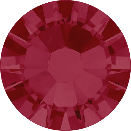Swarovski 2058 - Xilion Rose Enhanced, Ruby