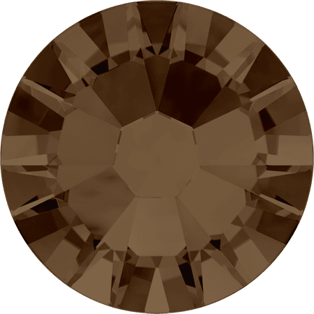 Swarovski 2058 - Xilion Rose Enhanced, Smoked Topaz
