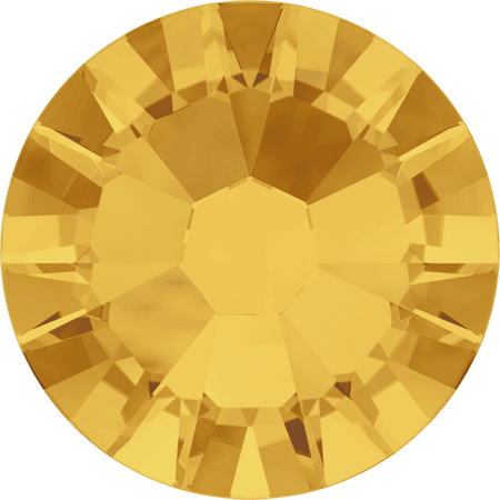 Swarovski 2058 - Xilion Rose Enhanced, Sunflower
