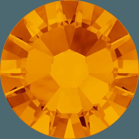 Swarovski 2058 - Xilion Rose Enhanced, Tangerine