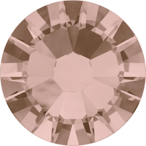 Swarovski 2058 - Xilion Rose Enhanced, Vintage Rose