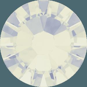 Swarovski 2058 - Xilion Rose Enhanced, White Opal