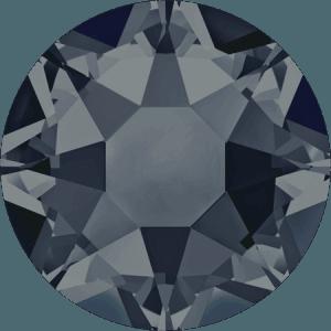 Swarovski 2078 - XIRIUS Rose, Hotfix, Graphite